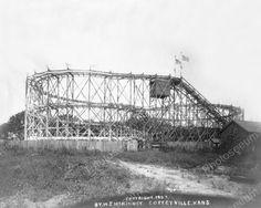 Kansas Huge Roller Coaster Circa 1900s 8x10 Reprint Of Old Photo