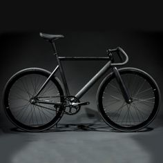 Fixie State Bicycle - Matte Black