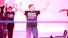 Daniel Bryan honored Susan G. Komen's More Than Pink standouts