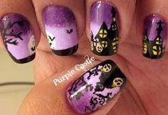 de pintar unhas Halloween Nail Art
