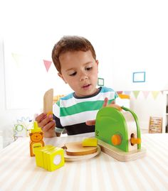 Pop-Up Toaster From Hape from The Wooden Toybox