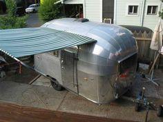 Airstream trailer 1954