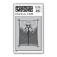 Jack Skellington 3 Stamps