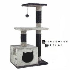 Pawz Road Cat Toy Cat House Swinging the Ball Cat Furniture&Scratchers Cat Tree House Scratch Toy For Pet Kitten Jumping Cat Tree House, Cat Tree Condo, Cat Condo, Diy Jouet Pour Chat, Cat Castle, Diy Cat Tree, Indoor Pets, Cat Stands, Cat Scratching Post