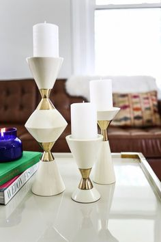 High Fashion Home Blog: Styling a Coffee Table, 3 Ways