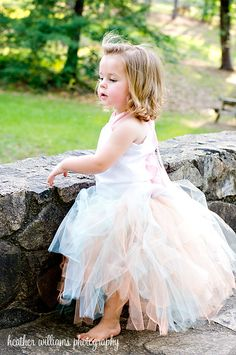 Flower Girl Pageant Special Occasion Ribbon by sweethearttutus