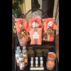 """New for the fall season! Greenleaf's """"Gracious"""" Collection is scented with sweet creamy pumpkin, blended into an elegant fruit musk! We have candles, room sprays, potpourri, sachets and home fragrance oils"""