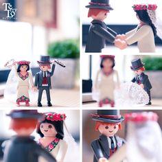 Playmobil wedding photo by terrylowedding.com