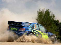 Subaru Impreza WRC rally car #rally_cars