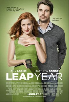Amy Adams and Matthew Goode in Leap Year Streaming Vf, Streaming Movies, Hd Movies, Movies Online, Movies And Tv Shows, Movies To Watch, Pixar Movies, Matthew Goode, Amy Adams