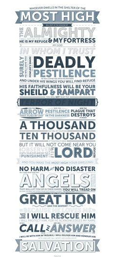 Psalm 91 7 A Thousand May Fall At Your Side Ten border=