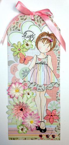 Paper Doll Tag for my BFF Theresa! - Scrapbook.com