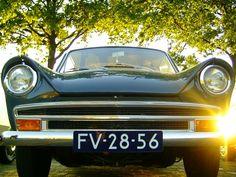 DAF Daffodil 31 LE 1965 - color Azuri/Helia - folding roof - former Dutch car brand #DAF #daffodil #variomatic #classiccar #oldtimer #carrelation