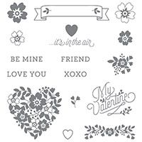 Create with Gwen, Stampin' Up! Independent Demonstrator, Gwen Edelman, Create with Gwen: Not Too Girly Valentine!