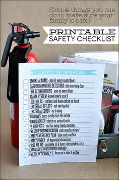 FREE Printable for Your Family Emergency Preparedness Binder