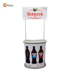 Balcão de Promoção desenvolvido para a Serrata.