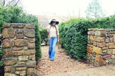 How to Wear Flare Jeans Especially if You are Petite!