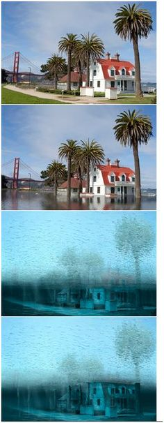 San Francisco Sea Level Rise at 6ft, 12ft, and 25ft