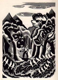 Clifford Webb (British, 1895-1972). (wood engraving)