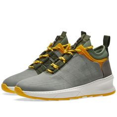 Filling Pieces Inner Circle Sneaker (Model Shark Army Green) Men s Sneakers e4ab8a2fb