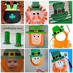 St Patrick's Day crafts for kids: 25+ leprechaun crafts