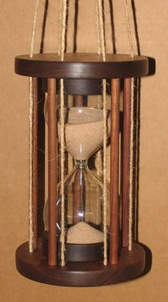 Hanging hour glass