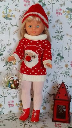 Knitted Dolls, Girl Doll Clothes, Doll Patterns, Vintage Dolls, American Girl, Elf, Knitting, Toys, My Style
