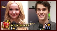 DESCENDANTS Cast Talks Script & Misunderstood  Characters - Dove Cameron, Mitchel Hope, Cameron Boyce, Booboo Stewart, and Sofia Carson.   I love this Descendants so much! This video is SO AWESOME! LOVE Dove Cameron! She's so cute and talented!!!