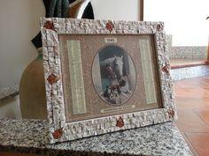 Cornice  mosaico personalizzata