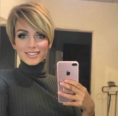 55 Best New Short Hair with Side Swept Bangs Short Hair With Side Bangs Related Post Pin by margarita padilla on Hair style in 2019 20 short bob hairstyles for fine hair 18 Intriguing Bob Cut Hair Looks For You Best Messy Short Hairstyles Ideas. Cool Short Hairstyles, Short Pixie Haircuts, Pixie Hairstyles, Trendy Womens Haircuts, Woman Hairstyles, Teenage Hairstyles, Stylish Hairstyles, Hairstyles Videos, Pixie Cut With Bangs