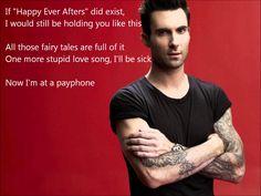 Maroon 5 - Payphone CLEAN NO RAP (Lyrics) | Payphone CLEAN Without Wiz Khalifa, via YouTube.