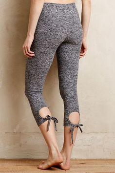 Keyhole Yoga Pants - anthropologie.com