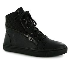 Chadwick Design Marketing: Amazon Affiliate | Quilted Lace Up Trainers
