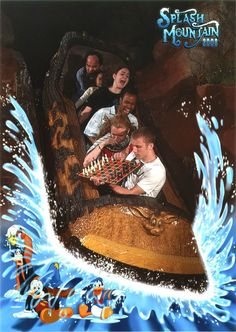My dad and I plan to do this one day when we go on splash mountain :] hahaha