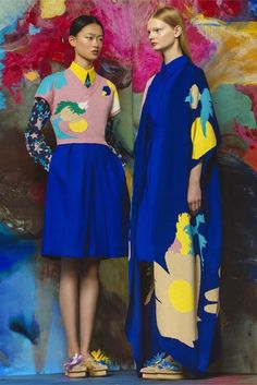 Delpozo Resort 2017 Fashion Show - Vogue See the complete Delpozo Resort 2017 collection. Foto Fashion, Fashion Week, Fashion 2017, Fashion Art, Editorial Fashion, Runway Fashion, Fashion Show, Fashion Design, Fashion Trends