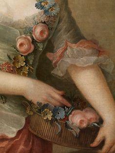 PORTRAIT PORTRAIT OF PRUSSIA AS FLORA Amalie(detail)