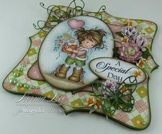 From My Craft Room - she has tons of beautiful cards and projects. I love the way she decorates the inside of her cards!!