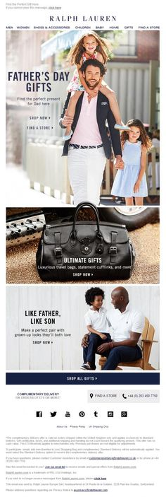 Father's Day email from Ralph Lauren with larger banner images and links to shop now Source by esceba Shoes banner Perfect Beard, Beard Lover, Banner Images, Presents For Dad, Email Design, Gifts For Father, Happy Father, Hair And Beard Styles, Bearded Men