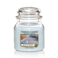 Beach Walk® : Medium Jar Candle : Yankee Candle