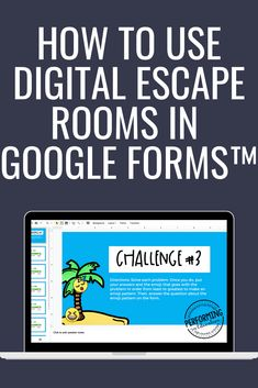 Here are some great tips and ideas on how to use digital escape rooms in Google Forms. April from Performing in Education gives some great information about how to use digital escape rooms in the classroom and during distance learning. These digtial escape rooms are fun and exciting for students and a great way to review math, reading, science and more! Critical Thinking Skills, Classroom Community, Hands On Learning, Escape Room, Teacher Hacks, Reading Skills, Upper Elementary, Student Work, Teaching Math