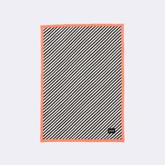 ferm LIVING - KIDS Room - Couverture Stripe Quilted Blanket - (70*100)