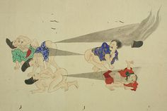 Amazing Images of Classic Japanese Fart Battles | Mental Floss - This is just.... what?