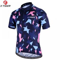 X-TIGER Short Sleeve Cycling Jersey Mans MTB Bike Clothing Breathable Road Racing Bicycle Clothes Sportswear Ropa Ciclismo  Price: 31.88 & FREE Shipping  #staysafe #practicesafetyguidlines #fashion|#sport|#tech|#lifestyle Bicycle Race, Mtb Bike, Bike Clothing, Online Checks, Cycling Jerseys, Road Racing, Sportswear, Tech, Free Shipping