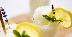 Lemonade takes on an ultra-summery and refreshing form in this Lavender Lemonade…