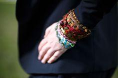 Bracelets en macramé. Inspiration Mongolie