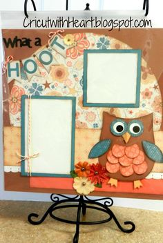 CTMH Clementine paper and new Cricut cartridge Artiste