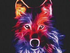 free cross stitch patterns -  The Wolf - www.crossstitchclub.com - 1