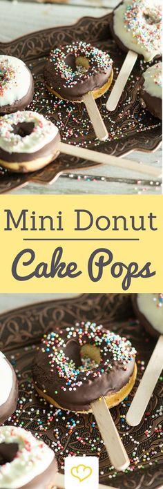nice Donut Cake Pops selber machen