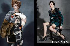 Lanvin Unveils Fall Campaign | tbFAKE