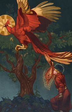 Ivan and the Firebird by Blackpassion777.deviantart.com on @deviantART